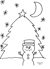 free printalbe winter coloring pages from craft elf