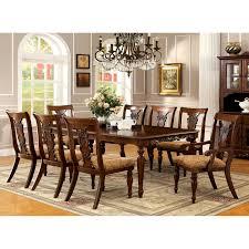 Dining Table Set Traditional Avalon Furniture Regency Park 9 Piece Dining Table Set Hayneedle