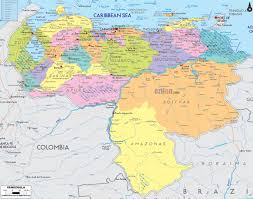 Map Of The South America by A Map Of South America And All Countries With Their Flags Shaped