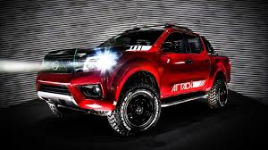 nissan frontier jacked up nissan frontier attack concept shows extra off road prowess