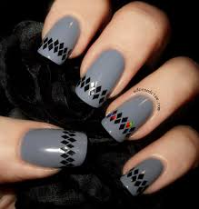 simple glitter placement nail art the adorned claw