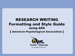research paper apa style template