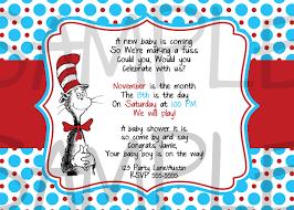 Baby Shower Invitation Cards Templates Dr Seuss Baby Shower Invitations Printable Free Theruntime Com