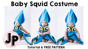 pattern witch costume baby squid costume tutorial free pattern halloween 2016 youtube