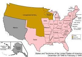 Us Map Michigan by Bronsonmapunitedstatesdec281846