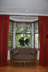curtains curtain rods for bay windows decor window treatments for