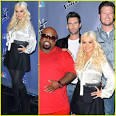 Christina Aguilera: 'The Voice' Season Two Press Junket! | Adam ...