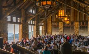 Grand Canyons North Rim Magnificent  Intimate By Day Or Night - Grand canyon lodge dining room