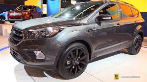 Ford Escape Sport - 2017 ford escape titanium exterior walkaround 2016 montreal