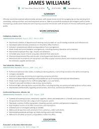 www resume examples administrative assistant resume sample resumelift com