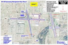 Springfield Oregon Map by Springfield Oregon 126 Highway Expansion Www Peaktraffic Org
