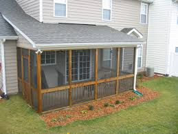 Screen Porch Roof by How To Build A Screened In Porch Peeinn Com