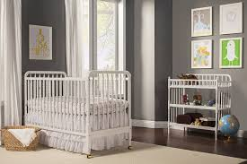 Convertible Crib Changer Combo by Convertible Ideas Of White Crib And Changing Table Combo
