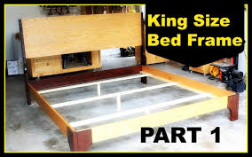 King Platform Bed Plans With Drawers by Bed Frames Diy King Platform Bed Farmhouse Bed Plans How To