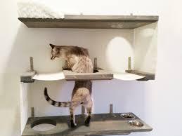 wall mounted cat shelves 120 unique decoration and modern cat tree