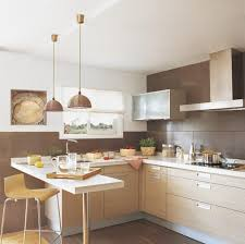 Kitchen Design Rustic by White Mini Bar With Wooden Stools For Decorating Small Rustic