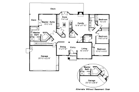 Ranch House Plan by Ranch House Plans Jefferson 10 056 Associated Designs