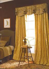 admirable curtain valance design ideas featuring oversized golden