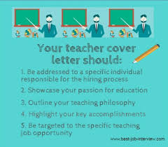 Cover Page For Job Resume by Teacher Cover Letter