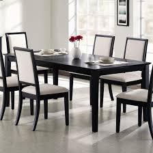Black And White Dining Room Chairs Black Dining Room Furniture Sets Pjamteen Com