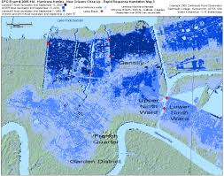 Ninth Ward New Orleans Map by Urban Decay Hurricane Katrina 10 Year Anniversary The Lower