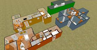 the u201cbig t u201d 480 sq ft shipping container floor plan concept cozy