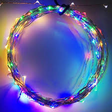 Blue Led String Lights by 20ft Fairy Led Wire String Lights Starry Twinkle Lights Torchstar