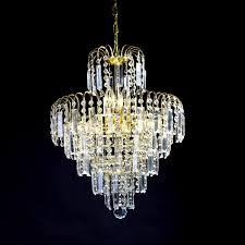 Chandelier Lighting For Dining Room Lightinthebox European Style Luxury 6 Lights Chandelier In Crown