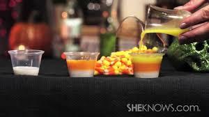 make candy corn jello shots youtube