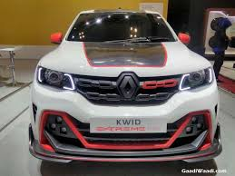 All Renault Models Renault Showcases Kwid Extreme Study Edition At Giias 2017