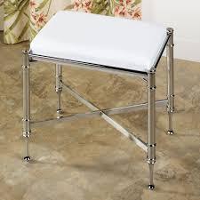 Vanity Stools With Wheels Vanity Chairs For Bathroom Design