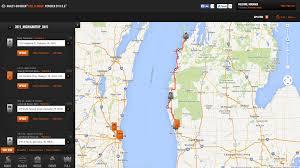 Google Maps Spain by Google Geo Developers Blog Harley Davidson Ride Planner Uses