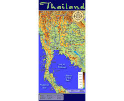 China Topographic Map by Maps Of Thailand Detailed Map Of Thailand In English Tourist
