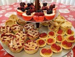 christmas dessert table xmasblor