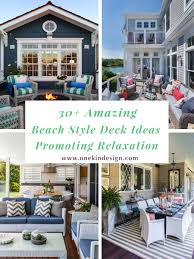 Beach Style House by 30 Amazing Beach Style Deck Ideas Promoting Relaxation