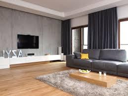 simple living room decor ideas ligth brown vinyl sofa rectangle