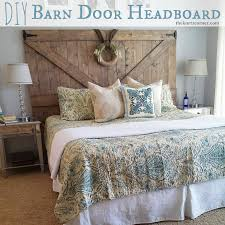Diy Barn Doors by The Kurtz Corner Diy Barn Door Headboard