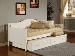 Full Size Trundle Bed Frame Daybed Trundle Ikea A Multiple Purpose Furniture Homesfeed