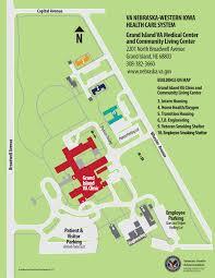 Virginia On Map by Grand Island Va Medical Center Va Nebraska Western Iowa Health