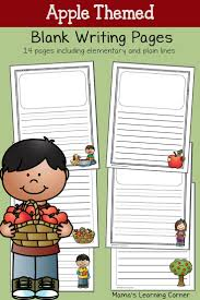 kindergarten lined writing paper 114 best printable lined writing paper images on pinterest apple blank writing pages