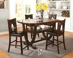 Counter Height Dining Room Tables by Oracle Table 21710 Mainline Inc Counter Height Dining Sets At