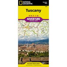 Tuscany Map Tuscany Italy Adventure Map National Geographic Store