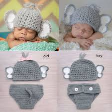 baby elephant costumes for halloween cute newborn elephant crochet baby elephant hat diaper set