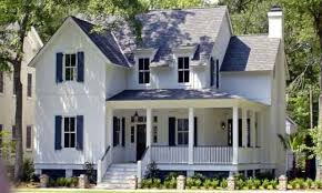 one story farmhouse plans with porches excellent house plan