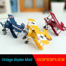 online buy wholesale metal vintage airplane decor from china metal