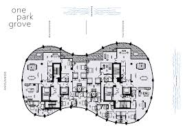 Penthouse Floor Plans One Park Grove Floor Plans Park Grove Floor Plans Park Grove