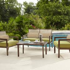 Lazy Boy Furniture Outlet La Z Boy Outdoor D12440 4pc Drew 4 Pc Seating Set Sears Outlet