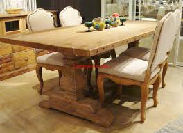 dining tables urban wood design reclaimed wood trestle dining