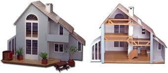 Miniature Dollhouse Plans Free by Green Holiday Gift Diy Eco Dollhouse
