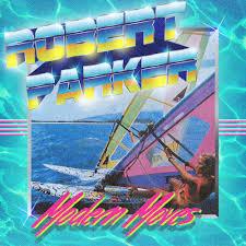 rober parker modern moves cover art 80s design revival 80s